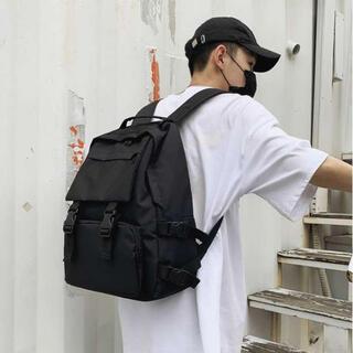 ☆即購入OK☆人気! 大容量 リュック 韓国 ブラック A4 通学 バックパック