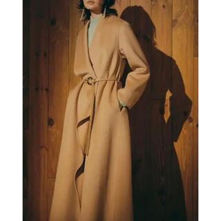 アメリヴィンテージ(Ameri VINTAGE)の美品 アメリヴィンテージ UNDRESSED FRILL COLLAR COAT(ロングコート)
