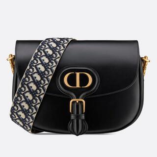 Dior - DIOR BOBBY ラージ ブラック オブリーク ストラップ