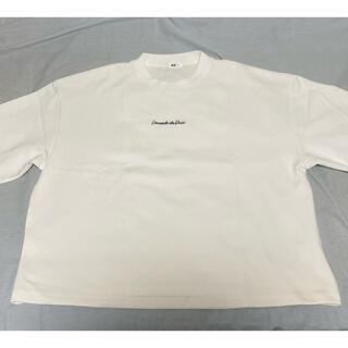 ウィゴー(WEGO)のオーバーサイズプリントTシャツ(Tシャツ/カットソー(半袖/袖なし))