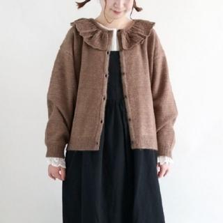 サマンサモスモス(SM2)のフリル衿ニット(ニット/セーター)