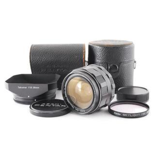 ペンタックス(PENTAX)の◇美品◇ Super Takumar 28mm F3.5 純正品多数有 L068(レンズ(単焦点))