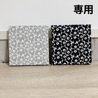 マリメッコ(marimekko)の【専用】マリメッコ marimekko ファブリックパネル2点(インテリア雑貨)