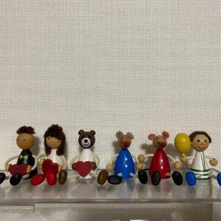 チェコの木製人形