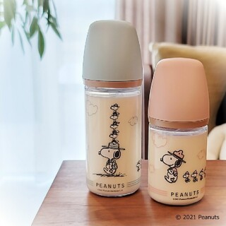 Richell - スヌーピー 哺乳瓶