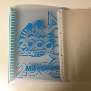 ミッキーマウス(ミッキーマウス)のミッキー ★ ルーズリーフバインダー 26穴(ファイル/バインダー)