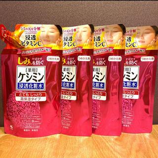 小林製薬 - 小林製薬 ケシミン浸透化粧水 とてもしっとり高保湿 詰替用140ml ×4点