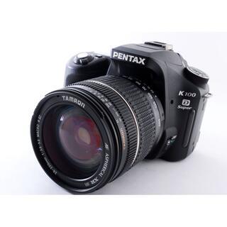 ペンタックス(PENTAX)の#3344美品♪Wi-Fiつき!! 広角~望遠撮影!! PENTAX K100D(デジタル一眼)