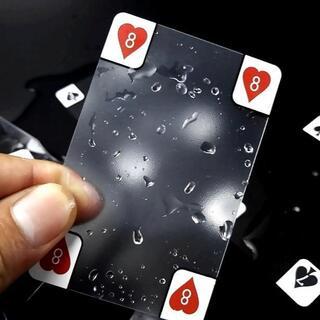 透明 トランプ いつものゲームも違う雰囲気に スケルトン カード(トランプ/UNO)