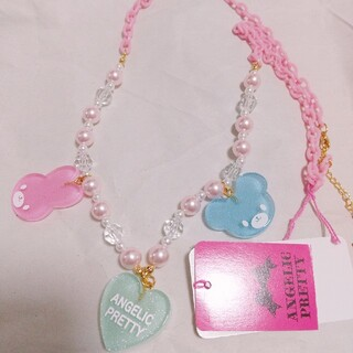 Angelic Pretty - Happy Garlandネックレス ピンク