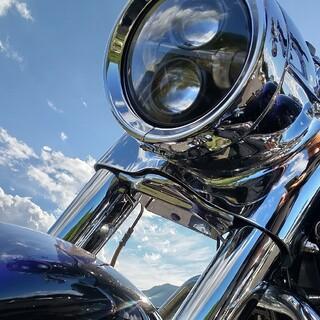 Harley Davidson - ハーレーダビッドソン 純正 フォークブラケットカバー クローム