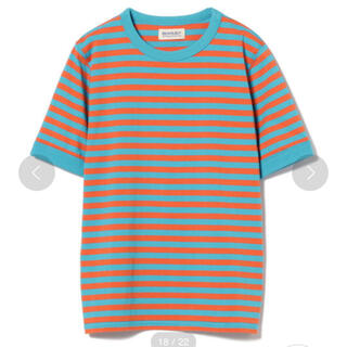 BEAMS BOY - BEAMS BOY ボーダー ワイドバインダー Tシャツ