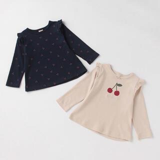 petit main - プティマイン プティプラ プチプラ トップス カットソー Tシャツ ロンT