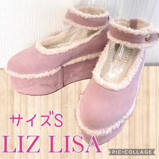 リズリサ(LIZ LISA)のリズリサ 厚底スエードパンプス(ハイヒール/パンプス)