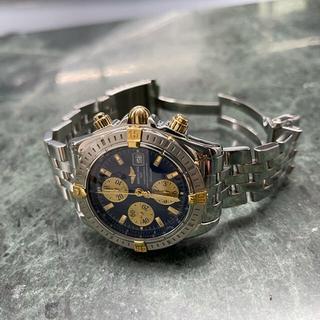 ブライトリング(BREITLING)のブライトリング クロノマット エボリューション ビコロ B13356 稼働美品 (腕時計(アナログ))