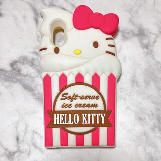 ハローキティ(ハローキティ)のハローキティ iPhoneX シリコンカバー hello kitty (iPhoneケース)