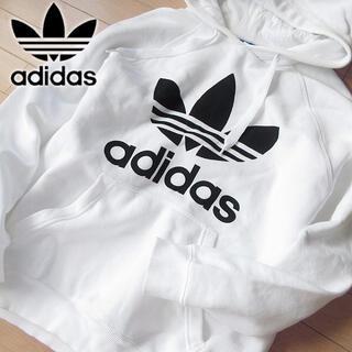 adidas - アディダスオリジナルス O(XL) メンズ 裏起毛パーカー ホワイト