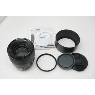 美品 ソニー SEL85F18 純正 フルサイズ Aマウント 85mm F1.8