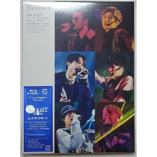 Johnny's - sixtones on est live DVD 初回限定盤 Blu-Ray