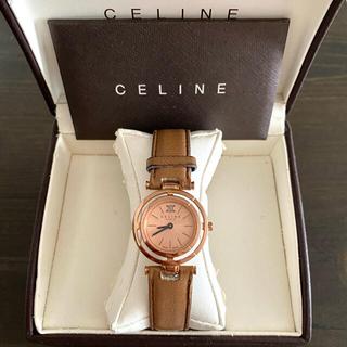 celine - 【大特価!!】セリーヌ マーブル腕時計 マカダム柄 ピンクゴールド 秋🎀
