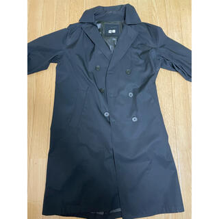 ユニクロ(UNIQLO)のユニクロ コート 黒(その他)