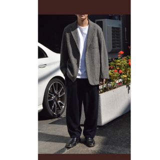 コモリ(COMOLI)の【新品サイズ1】COMOLI  LOVAT ウォッシュドジャケット 21AW(テーラードジャケット)