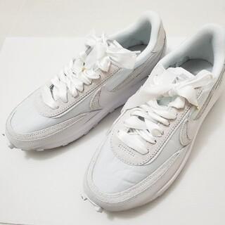 NIKE - Nike sacai ナイキ サカイ LDワッフル トリプルホワイト 26.5