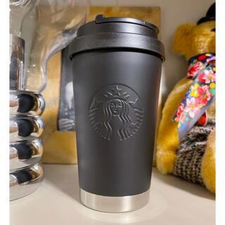 Starbucks Coffee - スタバ ステンレスtogoロゴ タンブラー 2017 艶消しブラック 新品