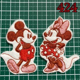 刺繍アイロンワッペン アップリケ ディズニー Disney ポケモン