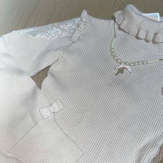 リズリサ(LIZ LISA)のリズリサ ネックレス付きニット(ニット/セーター)