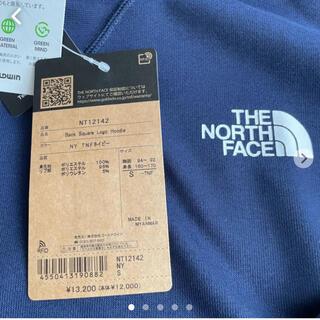 THE NORTH FACE - 新品】ノースフェイス バックスクエアロゴパーカー Sサイズ ネイビー