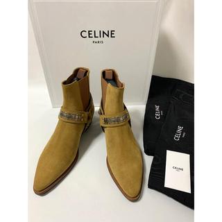 セリーヌ(celine)の新品【 CELINE セリーヌ 】カマルグ バイカー チェルシーブーツ 41(ブーツ)