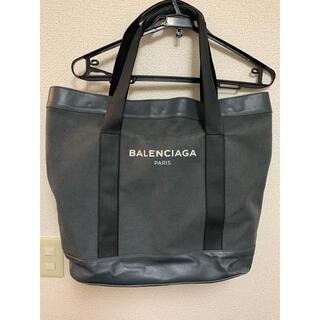 バレンシアガ(Balenciaga)のバレンシアガ キャンパス×レザー トート(トートバッグ)