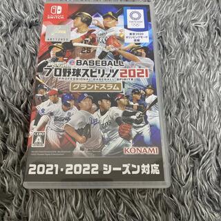 KONAMI - プロ野球スピリッツ2021 グランドスラム Switch プロスピ2021