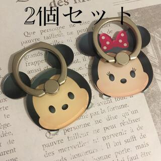 ミッキーマウス - 【新品セット】ミッキー&ミニーツムツム スマホリング バンカーリング ディズニー