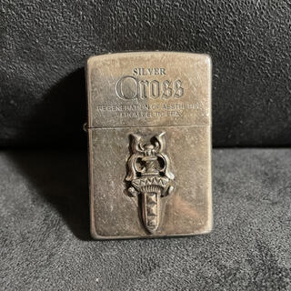 ZIPPO - 限定品 silver cross zippo