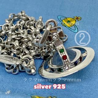 Vivienne Westwood - タイニー オーブ ネックレス silver925   (❷)