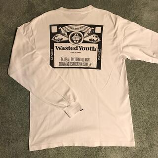 ビームス(BEAMS)のwasted youth  ロンT Mサイズ 美品(Tシャツ/カットソー(七分/長袖))