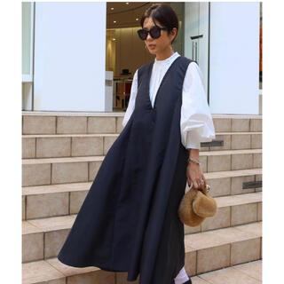 【新品未使用】ナイロンツイルドレス ブラック Black マチャット