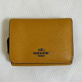 COACH - COACH コーチ 三つ折り財布 ミニ財布 ミニウォレット 定期入れ パスケース