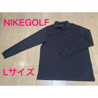 NIKE - NIKEゴルフ 長袖ゴルフポロシャツ 速乾 ドライ