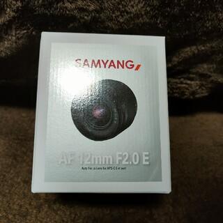 SONY - SAMYANG 単焦点レンズ AF 12mm F2 E ソニーEマウント APS
