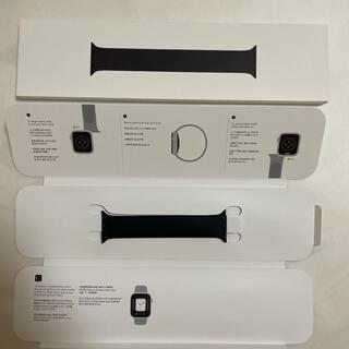 アップルウォッチ(Apple Watch)のアップルウォッチ ブラック ソロループ 1 (その他)