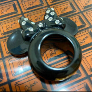 キューポット(Q-pot.)のDisney×Q-pot ミニーマウス イヤーリング(リング(指輪))