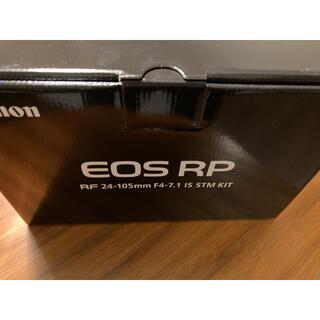 Canon - 新品未使用 EOS RP ボディのみ Canon キヤノン キャノン