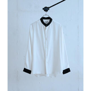 STUDIOUS - 【2021-2022秋冬最新】Lui's 配色スタンドシャツ