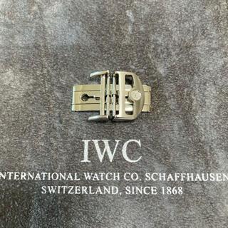 IWC - 【美品】IWC純正Dバックル 新型ダブルフォールディングタイプ 尾錠幅18mm