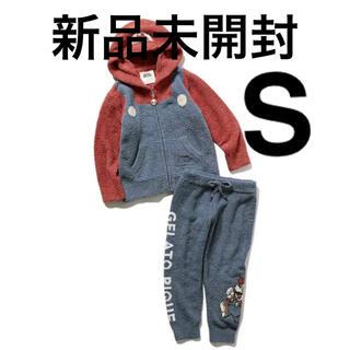 gelato pique - ☆新品未開封・タグ付☆ジェラートピケ☆マリオパーカ&ロングパンツSサイズ☆