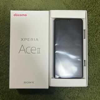 Xperia - SONY Xperia Ace II SO-41B ブラック