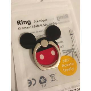 ミッキーマウス(ミッキーマウス)の【新品】ミッキーマウス スマホリング バンカーリング ディズニー(その他)